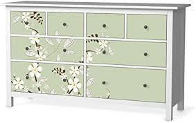 creatisto möbelfolie passend für ikea hemnes kommode 8 schubladen i möbeldeko möbel folie sticker i wohn deko ideen für wohnzimmer