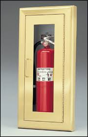 Recessed Fire Extinguisher Cabinet Mounting Height by Larsen U0027s Medallion Series Semi Recessed Fire Extinguisher Cabinet