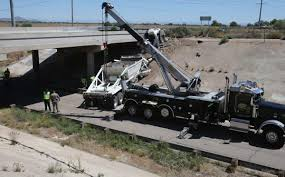 100 Truck Driver Accident Driver Killed When Rig Runs Off I8 Bridge In Casa Grande
