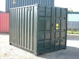 10ft Refurbished Used Shipping Container For UK Sale