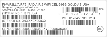 Find the serial number or IMEI on your iPhone iPad or iPod touch