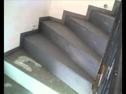 beton cire réalisation par top design d un escalier en