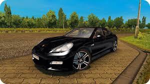 100 Porsche Truck Panamera Fast Driving ETS2130 Euro Simulator 2