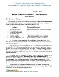 11 Scholarship Letter Of Recommendation Example New Looks Wellness