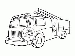 Coloring Fire Engine Inspirationa Fire Truck Coloring Page Best Fire ...