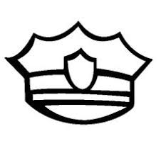 Pics For Police Officer Badge Coloring Page