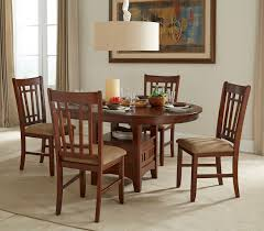 Mission Casual Round Dining Room Set By Intercon Furniture ... John Thomas Select Ding Mission Side Chair Fniture Barn Almanzo Barnwood Table Tapered Leg Black Base Amish Crafted Oak Room Set 1stopbedrooms Updating Style Chairs The Curators Collection Stickley Six Ellis A Original Sold Of 8 Arts Crafts 1905 Antique Craftsman Plans And With Urban Upholstered Rotmans Marbrisa Available At Jaxco