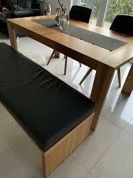 hülsta esszimmer tisch sitzbank und 2 stühle zustand