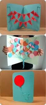 Cool Homemade Birthday Cards Packed With Card Ideas For Friends Create Awesome Simple