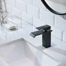 cecipa design wasserhahn bad osmose armatur waschtischarmatur einhebelmischer mischbatterie waschbeckenarmatur für badezimmer waschbecken schwarz