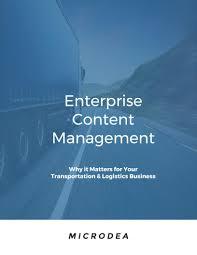 100 Ecm Trucking A Guide To Enterprise Content Management Software ECM Software