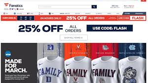 80% Off Fanatics Promo Coupon Codes Discount January 2019