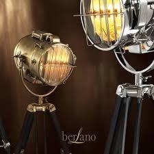 Royal Master Sealight Floor Lamp by Eichholtz 104424 Floor Lamp Atlantic Geel Koper Brass Brown