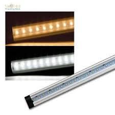 details zu smd led lichtleiste ct fl sehr flach aluminium unterbauleuchte fü küchen möbel