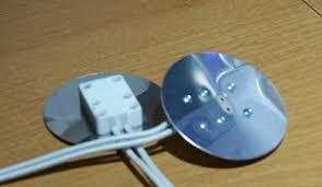 aluminum faced miniature bi pin socket with 2 diameter heat