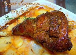 cuisiner souris d agneau au four gigot d agneau au four amour de cuisine