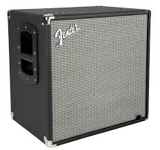 2x10 Bass Cabinet 4 Ohms by Fender Rumble 112 Cabinet V3 Black Silver Long U0026 Mcquade Musical