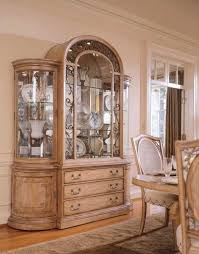 Jessica Mcclintock Furniture American Drew Home Round Dining Collection China Cabinet Four Doors