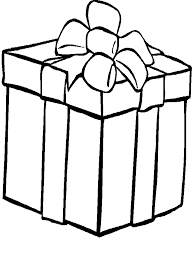 Gift Packages For Christmas Coloring Sheet Giftsgif 32407 Bytes