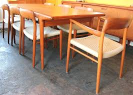 Houston Mid Century Modern Furniture Dining Room Set By For Sale Living