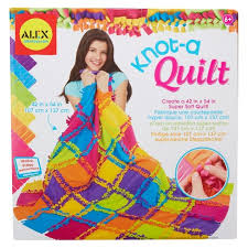 ALEX Toys Craft Knot A Quilt Kit Tar