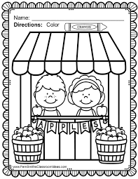 FREE Apple Themed Coloring Page In The Free Download Preview 50