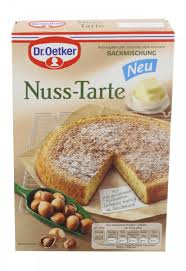 dr oetker nuss tarte backmischung european grocery