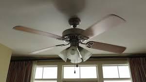 Harbor Breeze Ceiling Fan Capacitor Location by Harbor Breeze Springfield Ceiling Fan 2 Of 2 Youtube