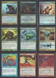 Mtg Thraximundar Edh Deck by How Many Cards Is It Reasonable To Have Signed Magic General
