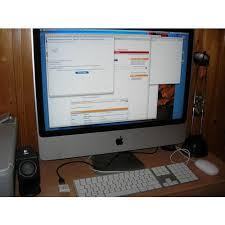 ordinateur apple de bureau apple imac 24 intel 2 duo 2 93 ghz 4 go