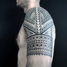 Best 25 Tribal Arm Tattoos Ideas On Pinterest