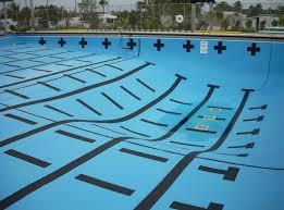 pools painted black swimming pool fibergl with grey shade