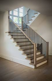 Best 25+ Stair Railing Design Ideas On Pinterest | Home Stairs ... Stairway Wrought Iron Balusters Custom Wrought Iron Railings Home Depot Interior Exterior Stairways The Type And The Composition Of Stair Spindles House Exterior Glass Railings Raingclearlightgensafetytempered Custom Handrails Custmadecom Railing Baluster Store Oak Banister Rails Sale Neauiccom Best 25 Handrail Ideas On Pinterest Stair Painted Banister Remodel