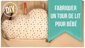 patron tour de lit bebe diy fabriquer un tour de lit pour bébé sur deco fr
