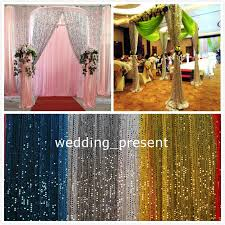 Fabric For Curtains Cheap by Shiny 9mm Sequins Fabric For Wedding Table Cloth Decoration