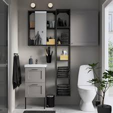 enhet tvällen badezimmer set 16 tlg grau rahmen