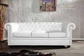 canapé chesterfield cuir blanc canape chesterfield cuir blanc 3 places canapé idées de