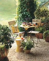 Pea Gravel Patio Images by Creative Outdoor Spaces Martha Stewart