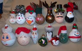 my creative side recycled light bulb ornaments