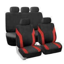 BESTFH: Red Black Car Seat Covers 5 Headrests For Sedan SUV Truck ... Raptor Truck Front Seat Cover Auto Covers Masque Coverking Rnohide Autoaccsoriesgaragecom Oxgord Flat Cloth Bucket Set For Cartruckvansuv Amazoncom Baja Inca Saddle Blanket Pair Automotive Browning Tactical Car Suv 284675 Phantom Rear Best Washington Natialswashingnauto Bestfh Eva Foam Waterproof Gray For The Cummins Youtube 2017 Ford Covercraft Chartt Realtree Camo