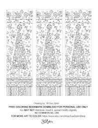 Blogging With Dyslexia FREE Sue Zipkin Christmas Tree Bookmarks