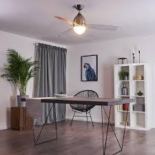 deckenventilator mit licht für wohnzimmer büro und co