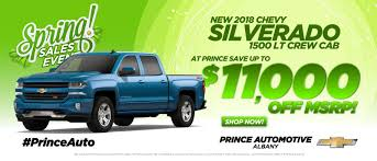 100 Chevy Truck Dealer Prince Chevrolet Buick GMC Cadillac Of Albany A Dawson Leesburg
