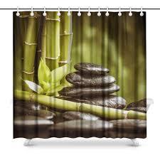 Amazoncom InterestPrint Spa Natural Theme Zen Basalt Stones And