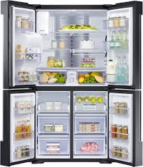 Samsung Cabinet Depth Refrigerator Dimensions by Samsung Rf22k9581sg 36 Inch Counter Depth 4 Door Refrigerator With