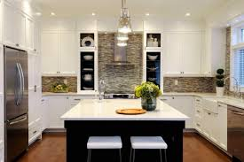 contemporary mosaic tiles contemporary kitchen atmosphere