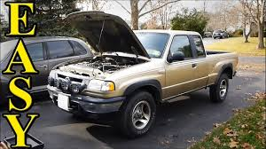 100 1999 Mazda Truck How To Change Your Oil In Less Than 5min YouTube