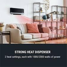 wallkyrie wandheizgerät 1000w 2000w 10 49 c thermostat schwarz