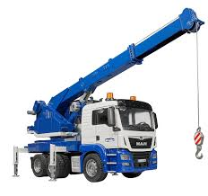 Bruder - 03770 | Construction: MAN TGS Crane Truck With Light ...