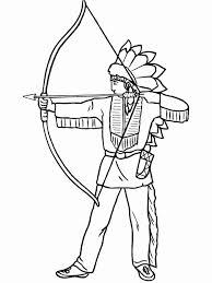 Native American Boy Coloring Pages For Boys 13